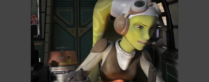 First clip of Star Wars: Rebels