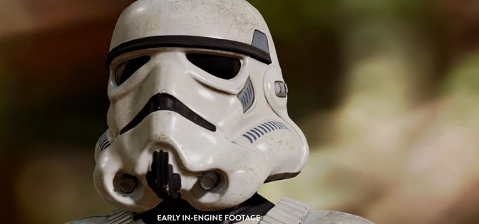 EA Teases us With a Few Seconds of Battlefront Footage