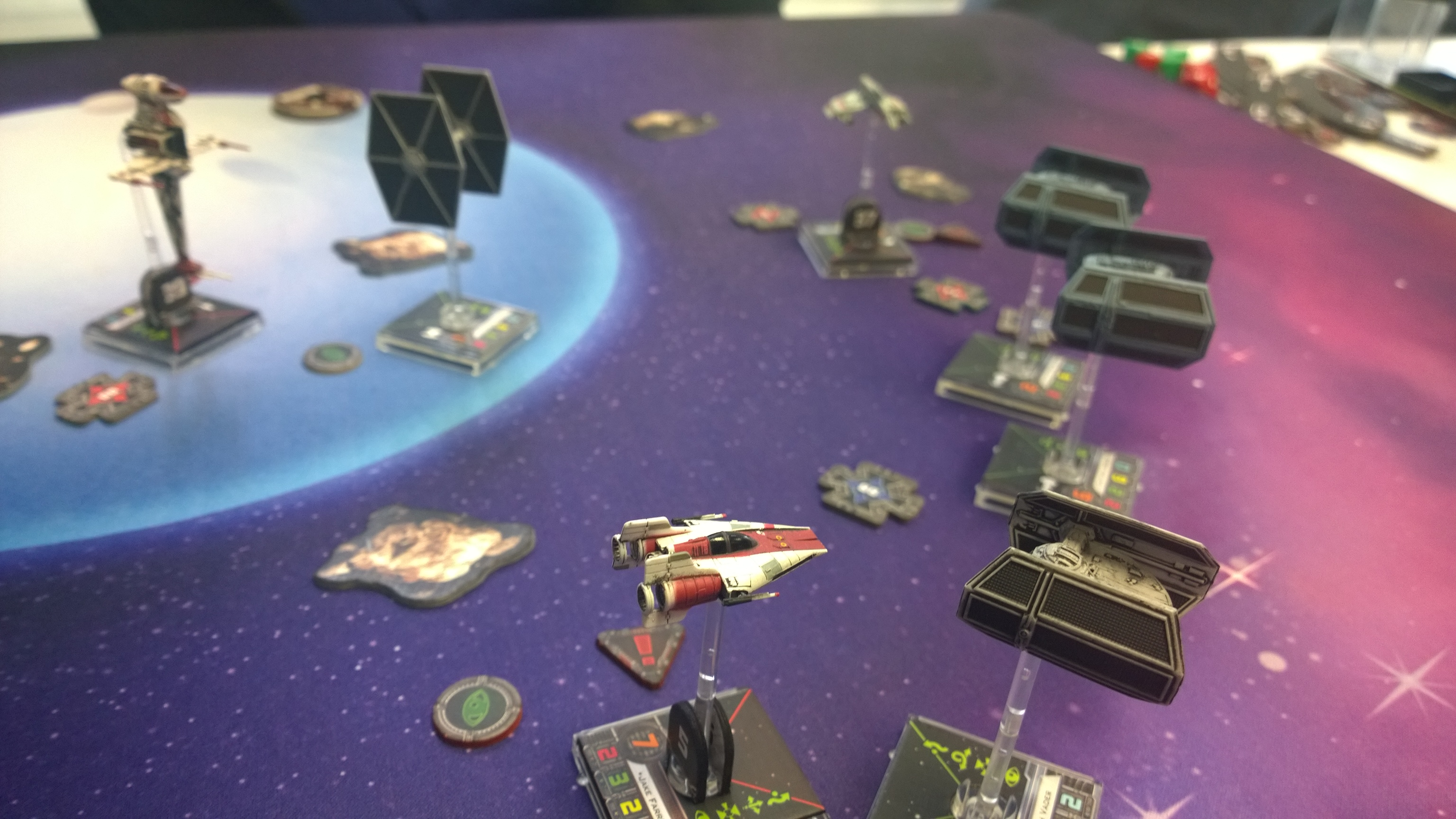 """X-Wing Tournament Report: My first run-in with """"Fat Han"""""""