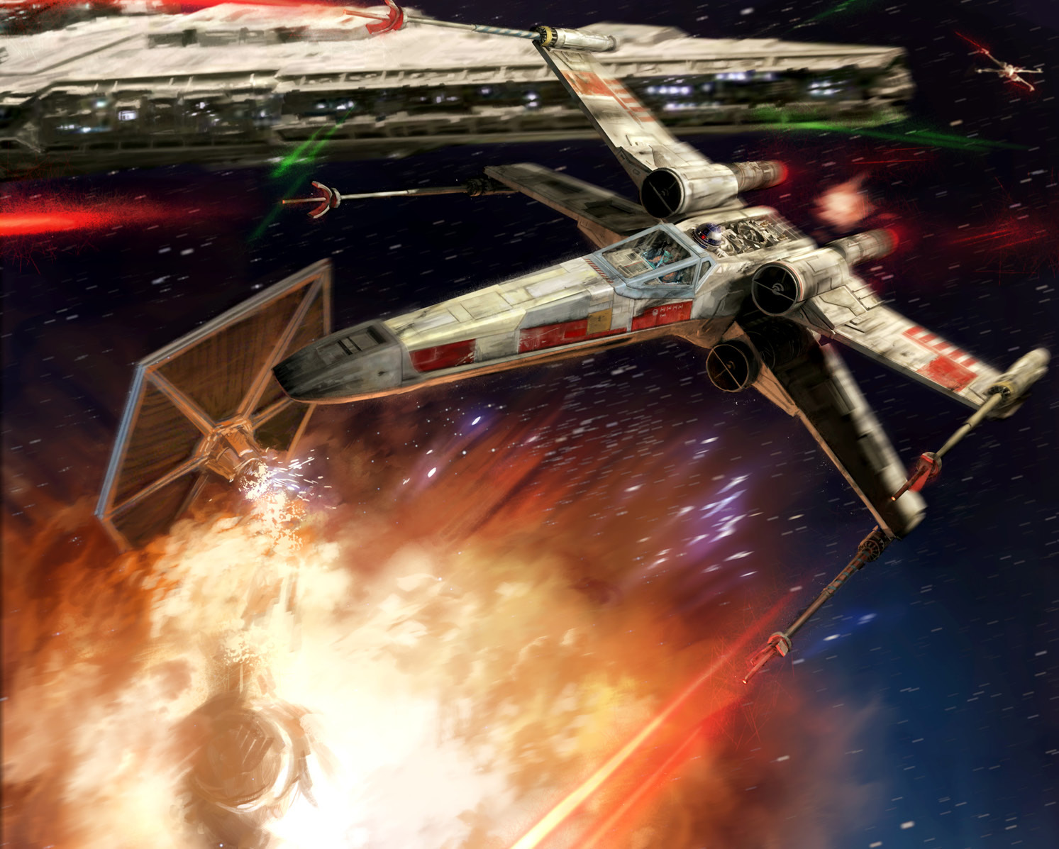 X-Wing Thematic Squads: Battle of Endor Rebels