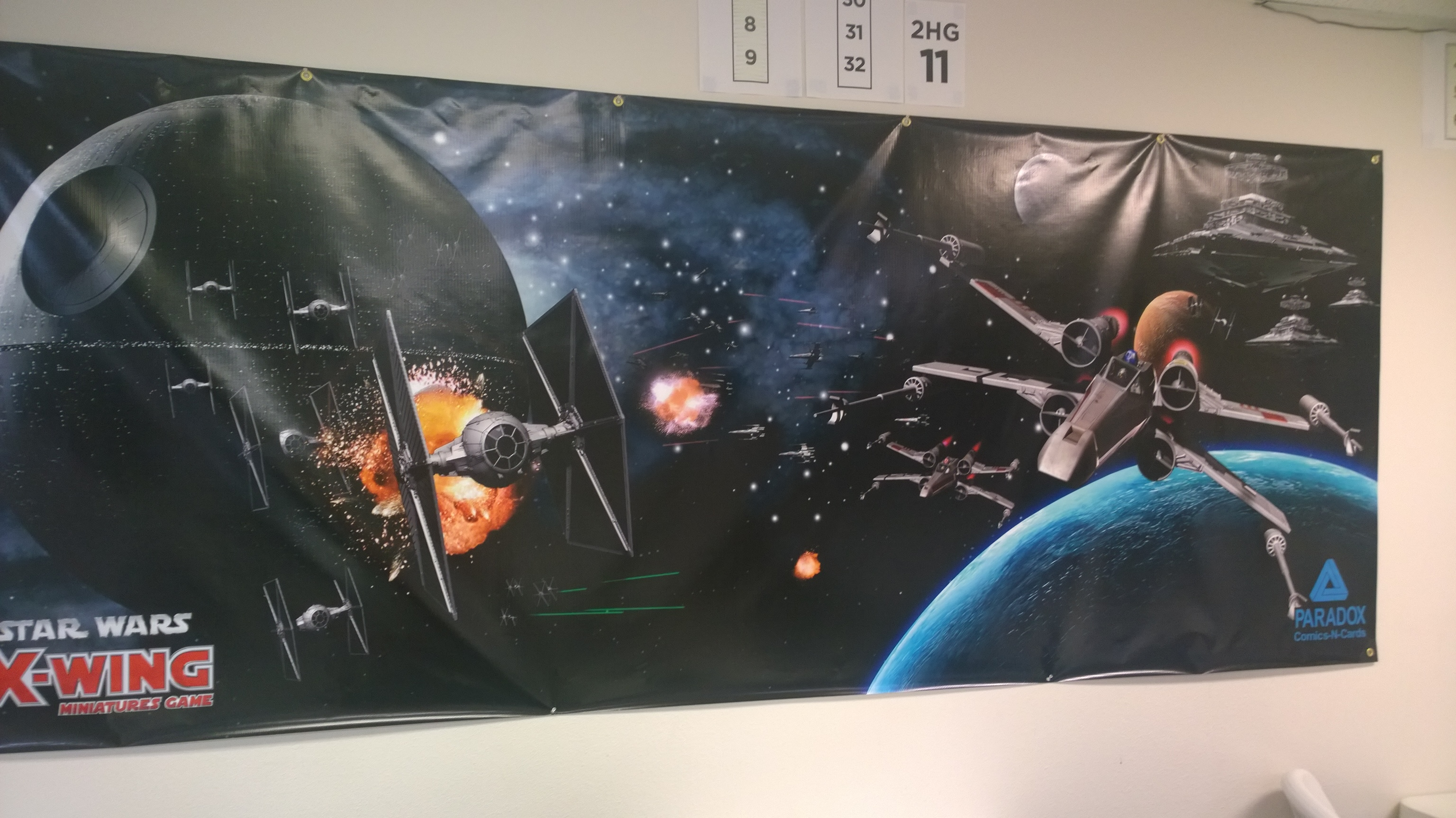 X-Wing Tournament Report: Battle Over Yavin
