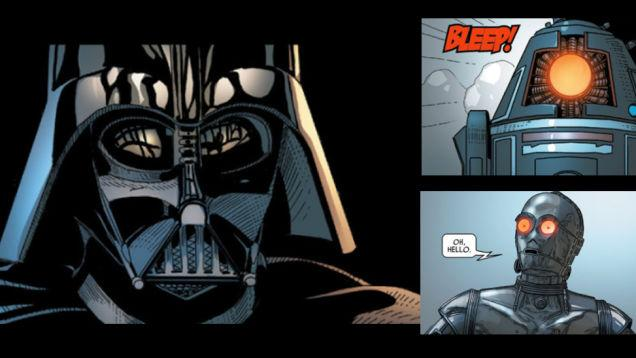 Darth And Droids Comic Weekly Comics Darth Vader 3 The Jodo Cast the jodo cast