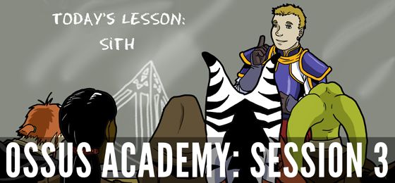 Jodo Cast Flashback! Ossus Academy 3