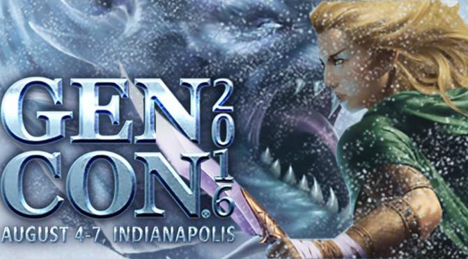 GenCon 2016 Begins!